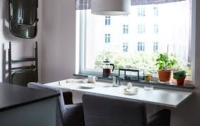 Small Kitchen Table Ideas Ikea by A Dining Idea For A Small Kitchen