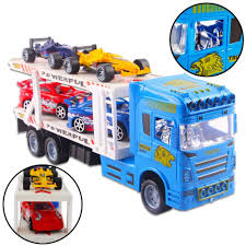 100 Toy Car Carrier Truck S Games Transporter Hauler Rier Trailer