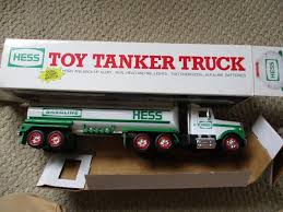 1990 Hess Toy Tanker Truck | Hess Trucks By The Year Guide | Pinterest