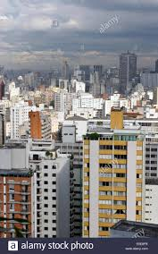 100 Apartment In Sao Paulo View Of Apartment Blocks In Central Brazil Stock