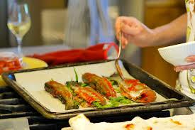 cuisiner la truite recette truites à l estragon grillées au four banlieusardises