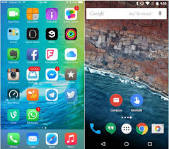 Apple iOS 9 vs Android 6 0 Marshmallow puting
