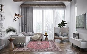 herunterladen hintergrundbild grau stilvolle wohnzimmer