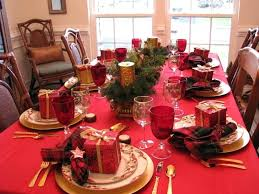 Christmas Dining Table Leg Styles Flower Arrangement Ideas Decorating House With Lights