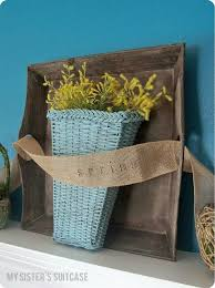DIY Projects Mantles DecorDiy Home DecorBasket IdeasPrimitive DecorSpring