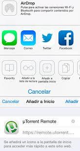 uTorrent Remote para iPhone y iPad