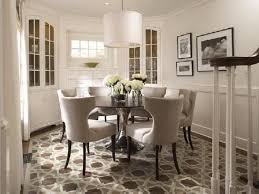 fancy plush design round dining room table all dining room