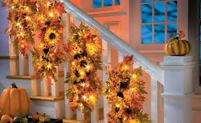Fall Decorating Ideas – Sunflower Home Decor Collection ... Christmas Decorations And Christmas Decorating Ideas For Your Garland On Banister Ideas Unique Tree Ornaments Very Merry Haing Railing In Other Countries Kids Hangers Single Door Hanger World Best Solutions Of Time Your Averyrugsc1stbed Bath U0026 Shop Hooks At Lowescom 25 Stairs On Pinterest Frontgatesc Neauiccom Acvities 2017