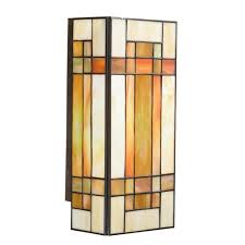 kichler craftsman style wall sconce at destination