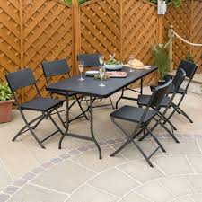 6ft Rattan Effect Folding Table 315 Round Alinum Table Set4 Black Rattan Chairs 8 Seater Ding Set L Shape Sofa Brown Beige Garden Amazoncom Chloe Rossetti 17 Piece Outdoor Made Coffee Table Set Stock Photo Image Of Contemporary Hot Item Modern Fniture Stainless Steel And Lordbee Large 5 Pcs Patio Wicker Belleze 3 Two One Glass Details About Chair Cushion Home Deck Pool 3pc Durable For Pcs New Y7n0