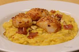 Pumpkin Risotto Recipe Easy by Pumpkin Risotto With Spicy Scallops Cutterlight