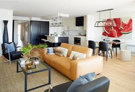 Living Room Furniture Trends 2016 Coupling A Few Zones Together In Studio Apartment Is