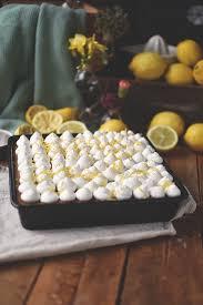 zitronen mohn kuchen mit quark creme sommer im winter