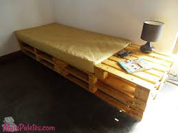 Bedroom How To Make A Pallet Bed With Drawers Pallet Bed With