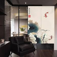 neue chinesische tür vorhang bad feng shui vorhang schlafzimmer dekorative vorhang japanischen vorhang noren