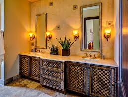 Mediterranean Style Bathroom Vanity For Rustic Nuance