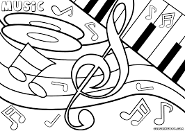 Pleasurable Ideas Music Coloring Pages