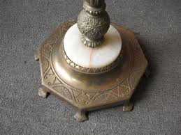 Image Of Antique Floor Lamps Marble Base