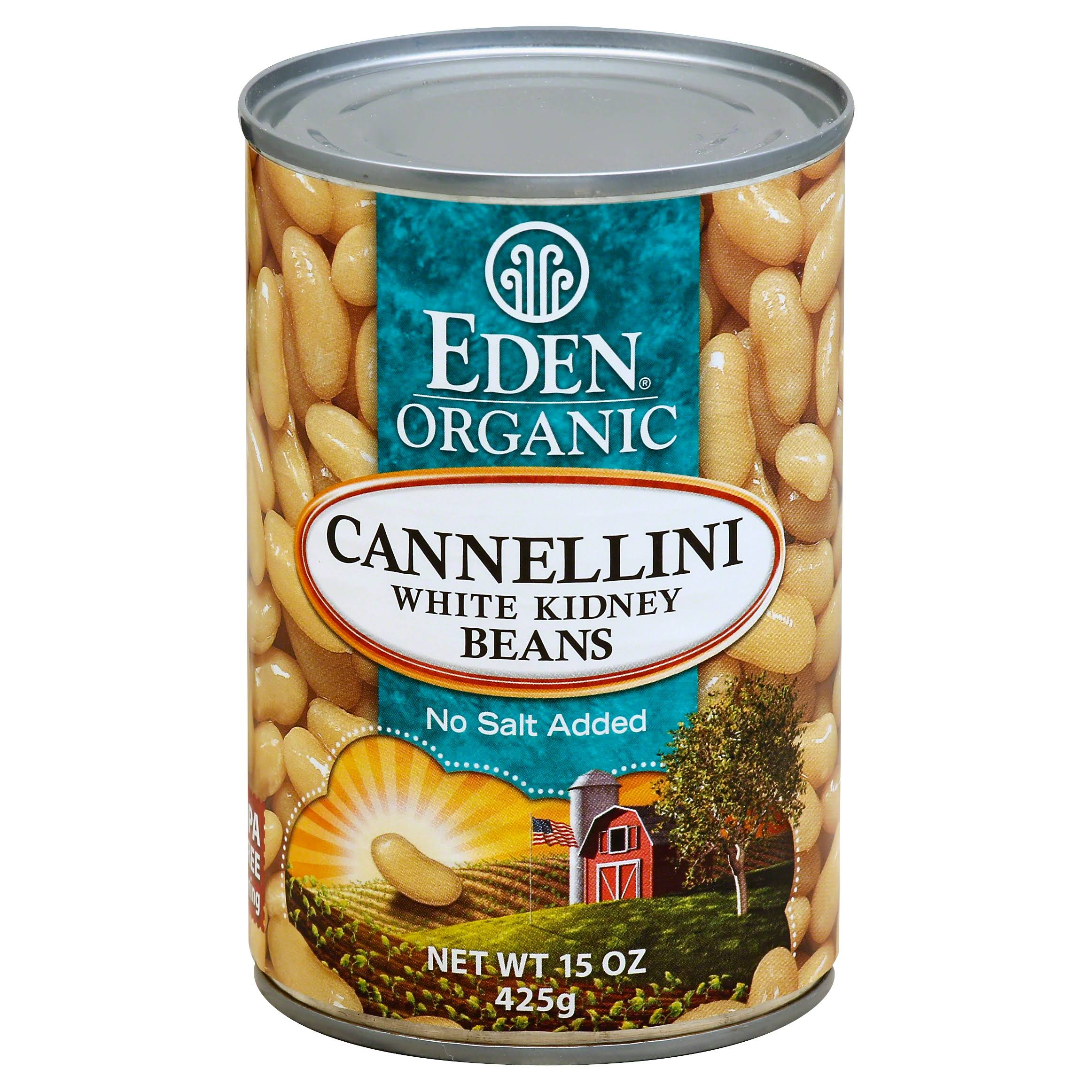 Eden Organic Cannellini White Kidney Beans - 15 oz can