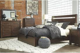 starmore queen panel bed ashley furniture homestore
