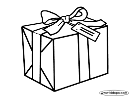 Gift Coloring Page Pages Alltoys For