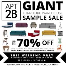 Apt2b Sample Sale Flyer April2016