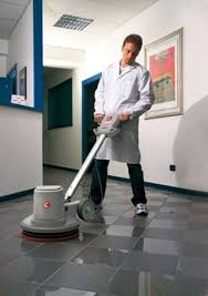 Burnishing Floors After Waxing by Scrubbers Polishers And Burnishers Floor Cleaning Machines