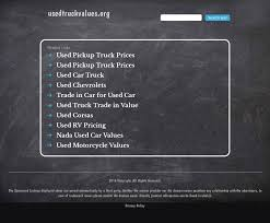100 Used Truck Values Nada Competitors Revenue And Employees Owler
