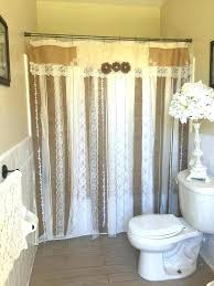 Rustic Country Curtains Best Ideas On Window Bathroom