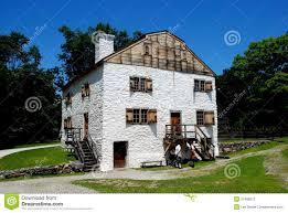100 Sleepy Hollow House NY Philipsburg Manor Editorial Stock