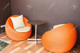 Orange Outdoor Wicker Chairs With Cushions. Stock Photo, Picture And ... Orange Outdoor Wicker Chairs With Cushions Stock Photo Picture And Casun Garden 7piece Fniture Sectional Sofa Set Wicker Fniture Canada Patio Ideas Deep Seating Covers Exterior Palm Springs 5 Pc Patio W Hampton Bay Woodbury Ding Chair With Chili 50 Tips Ideas For Choosing Photos Replacement Cushion Tortuga Lexington Club Amazoncom Patiorama Porch 3 Piece Pe Brown Colourful Slipcovers For Tyres2c Cosco Malmo 4piece Resin Cversation Home Design