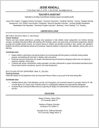 ResumeTerrific Resume Examples For Teacher Assistant Substitute Sample Substit Teaching Objective No Experience