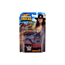 100 Hot Wheels Monster Truck Toys Jam WWE Undertaker