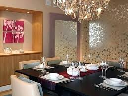 Dining Room Wallpaper Accent Wall Ideas For Living
