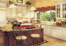 Cherry Kitchen Cabinets Country