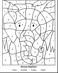 1st Grade Math Coloring Sheets First Spring Printable Color Educational Pages Christmas Full Size