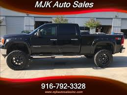 2011 GMC Sierra 2500 LIFTED 6.6 Duramax Diesel 4x4 W/Leather For ...