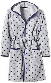 robe de chambre capuche petit bateau robe de chambre à étoiles à capuche manches