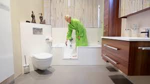 barrierefreies bad wanne zur dusche begehbare badewanne