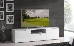 lowboard tv schrank fernsehrschrank wohnzimmer weiß hochglanz 169cm