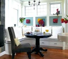 Corner Kitchen Booth Ideas by Dining Tables Modern Kitchen Booth Corner Banquette With Round