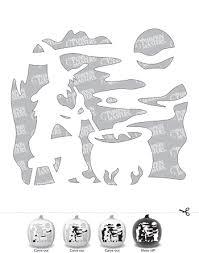 Peppa Pig Pumpkin Stencil by 30 Free Printable Pumpkin Stencils For Carving