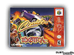 Cruis'n Exotica N64 Nintendo 64 Game Case Box Cover Brand New Pro ...