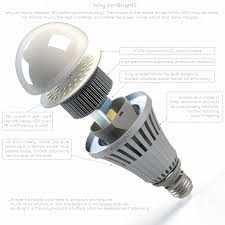 ecobright 20w 150w 2000lm led light bulb warm white non