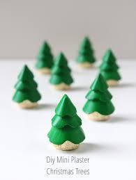 Mini Plaster DIY Christmas Tree Decoration