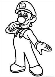 Super Mario Bros Coloring Pages 24