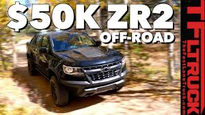 100 Chevy Mid Size Truck Colorado ZR2 Vs Pennsylvania Gulch Most Expensive Capable