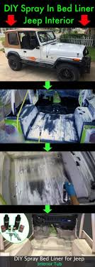 100 Diy Spray On Truck Bed Liner How To In Jeep Wrangler Interior