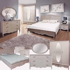 schlafzimmer komplett set massivholz eiche perleiche