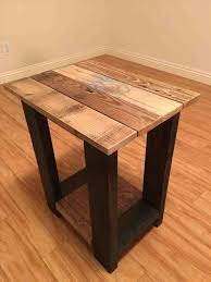 Easy Wood Table Projects How To Build A Reclaimed Dining Howtos Ana White